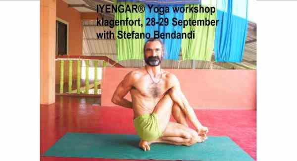 Iyengar® Yoga Workshop with Stefano Bendandi in Klagenfort