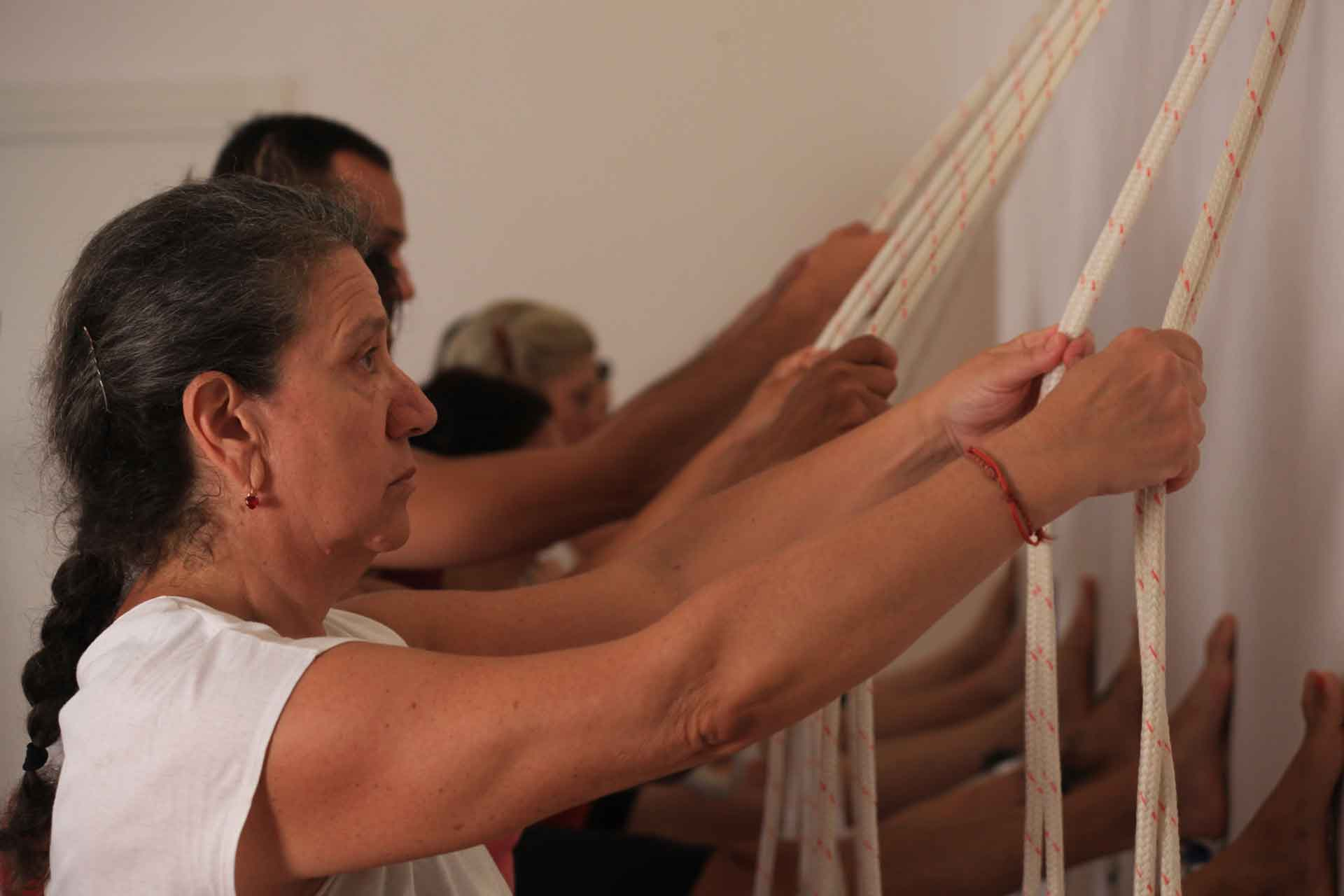 Postural yoga course in our yoga school in Genoa
